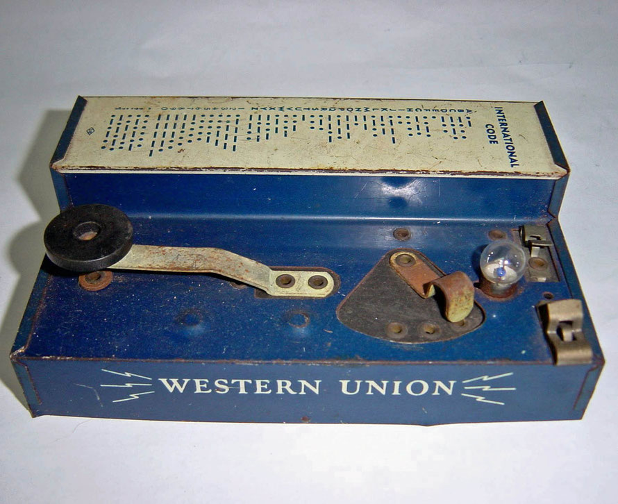 Practice set. Key Western Union.  Standard Radio Telegraph set