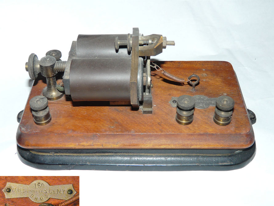 J.H. Bunnel Telegraph Relay.