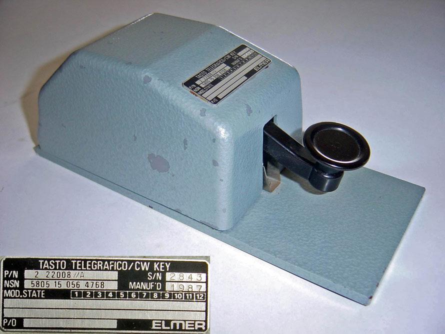 Tasto Telegrafico / CW Key.