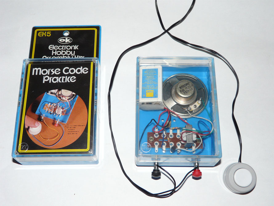 Morse Code Practice. Electronic Hobby Assembly Kits.