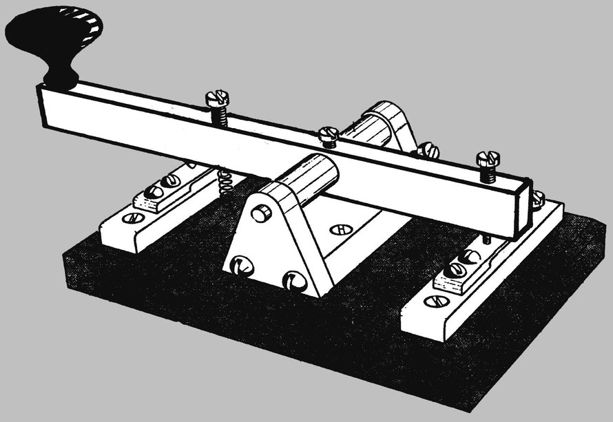 How to make a Morse Key.