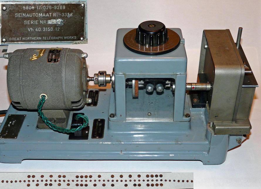 G.N.T. Seinautomaat. Wheatstone-code. Transmitter.