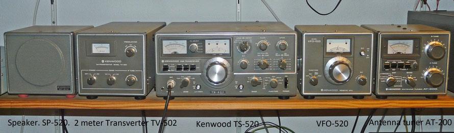 Kenwood TS-520.