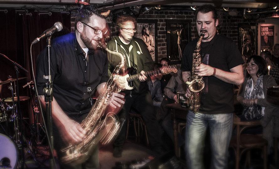 Snakatak Bandfoto / Live beim Hafenfest Münster