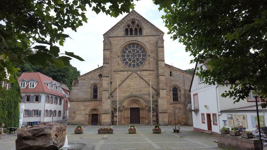 Westfassade der Abteikirche Otterberg, Bild: H.Forsch
