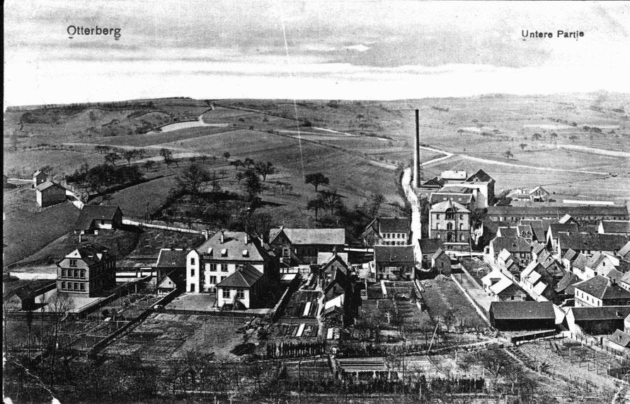 Otterberg 1910, Ansicht aus Osten, Postkarte
