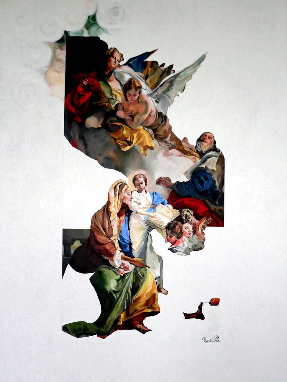 N° 56 - Huile/toile - 130 x 97