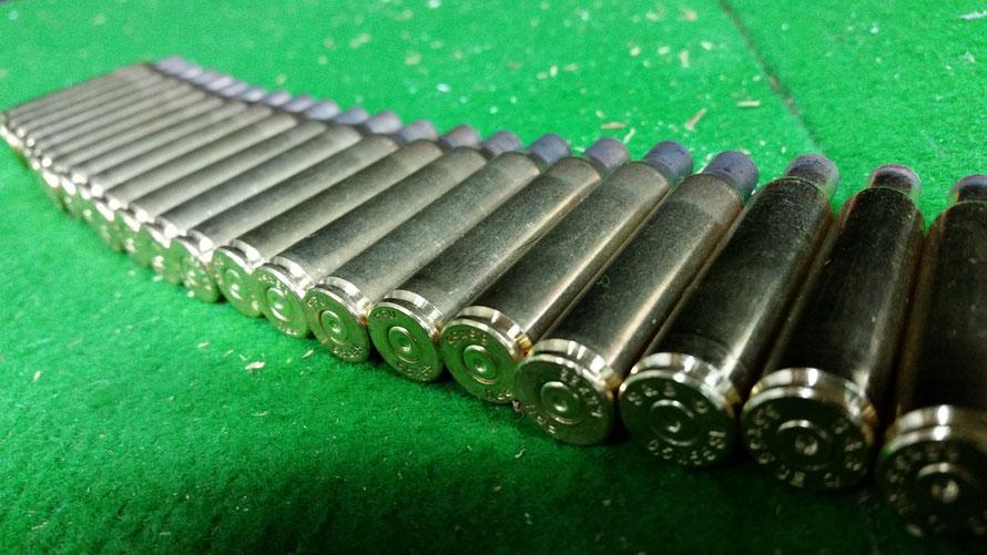 Abgefeuerte Patronen, ursprüngliches Kaliber: 6,5x55 mm