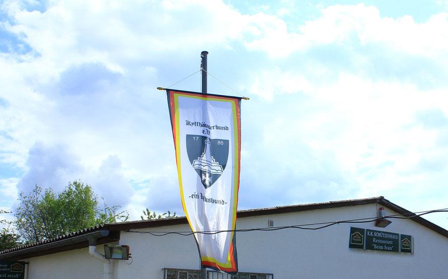 Unsere Flagge beim Landesschießen 2015