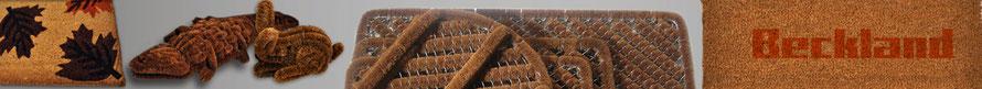 Bürstenmatten Schmutzfangmatte Eingangsmatten Kokosmatten Kokosfußmatte