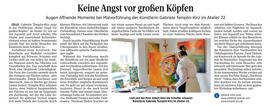Lieben Dank an Andreas Ziesemer für den gelungenen Bericht. Erschienen am 04.06.2020 in Kultur der CZ.