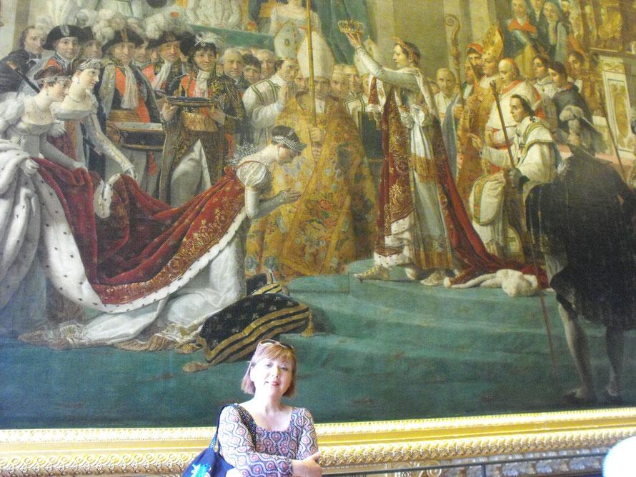 マドモアゼル ルノルマンと友情を交わしたと言われるジョセフィーヌの戴冠式