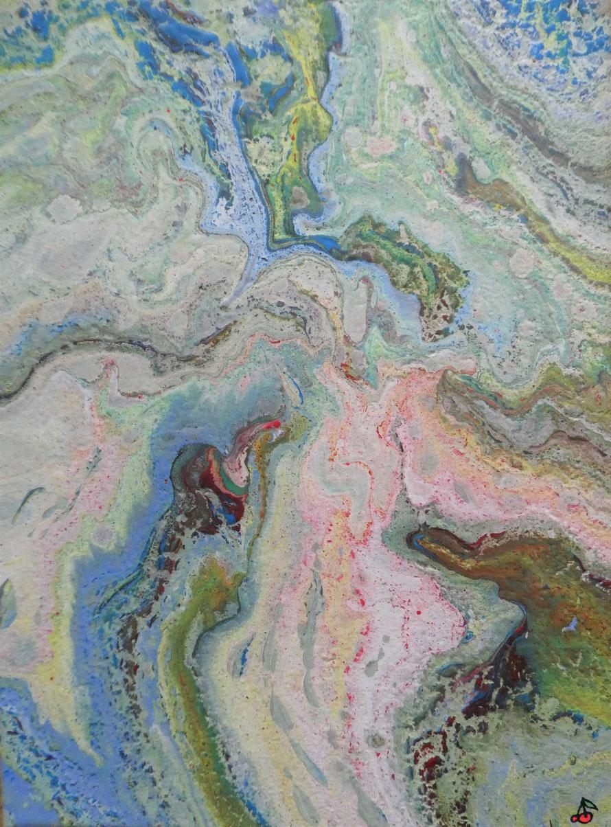 "LANDSCAPE (18) | Acrylic on 12"" x 9"" canvas | Satin varnish finish | £35.00 incl. p&p (UK only)"