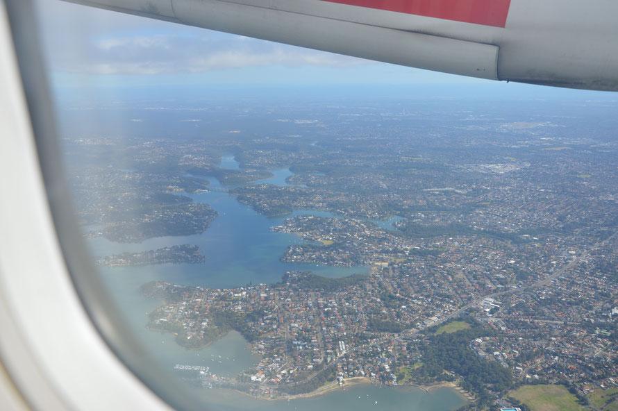 Die Vororte von Sydney