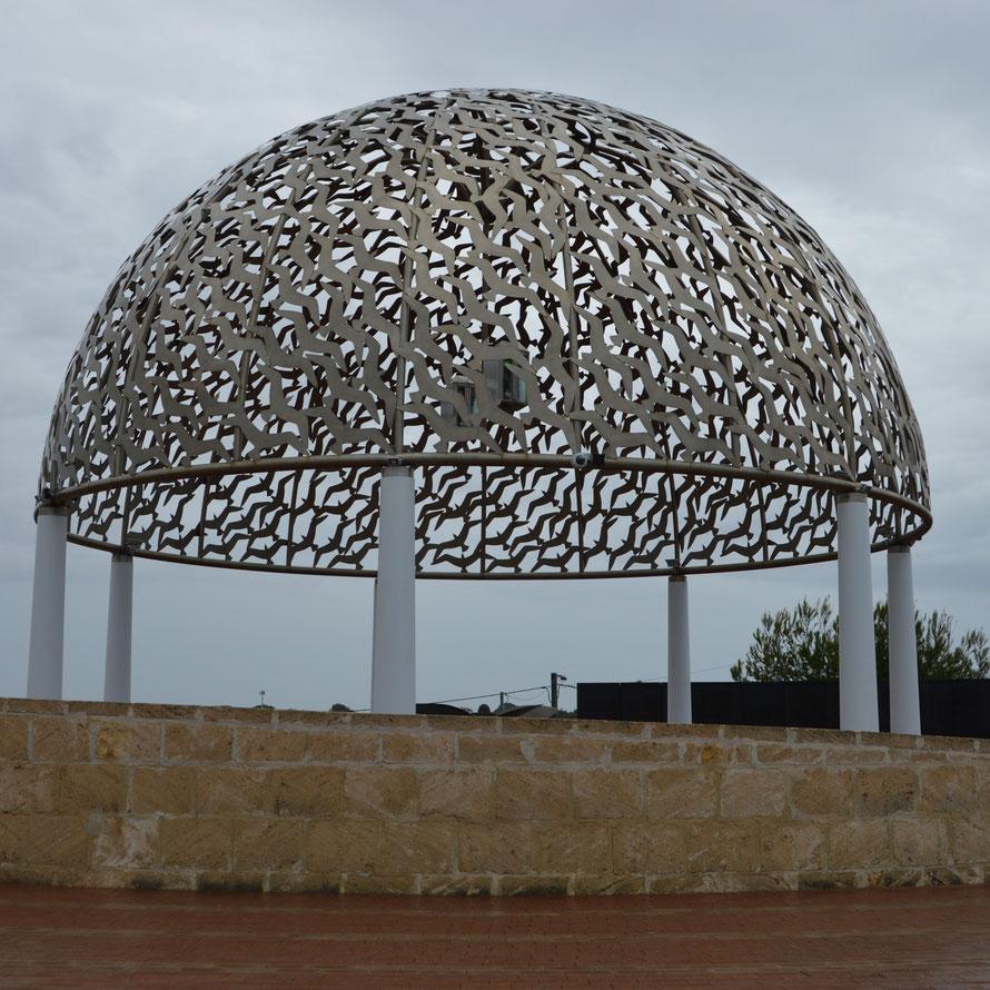 Eines der Monumente des HMAS Sydney War Memorial