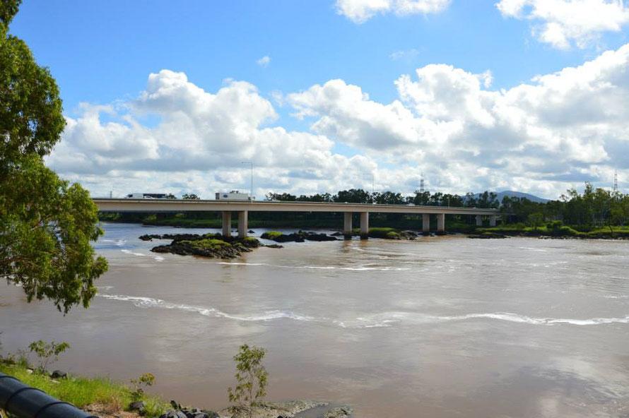 Der Fitzroy River Richtung Landesinneres