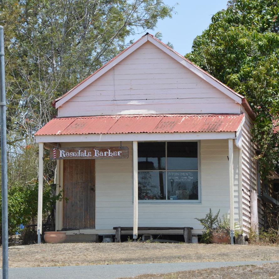 Rosedale heisst das kleine Dorf - irgendwie surreal