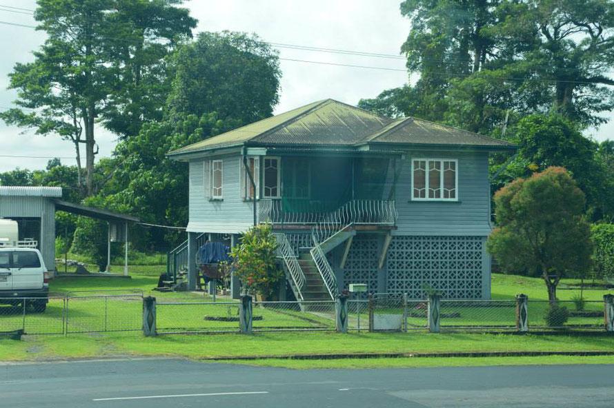 Ein typisches Queenslander-Haus