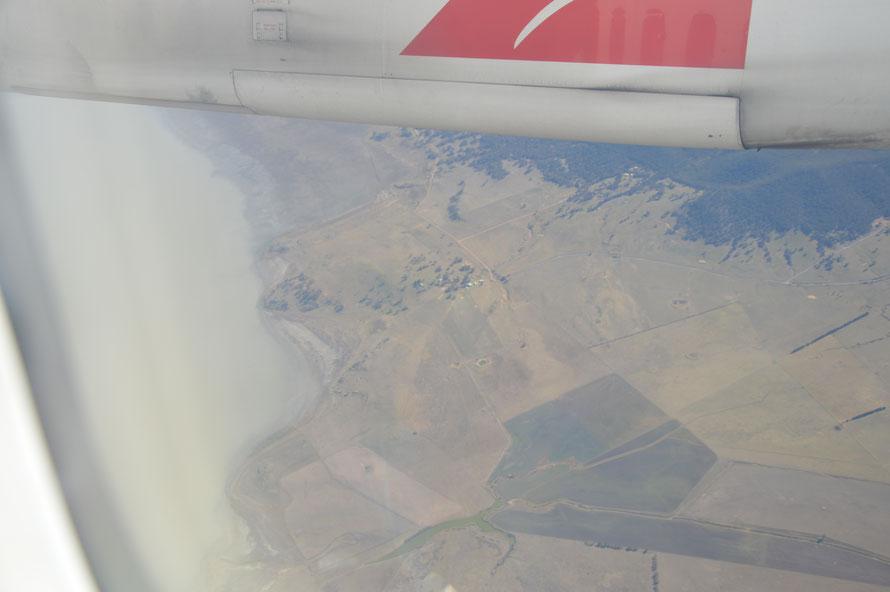 Das ist der Lake George - liegt in der Nähe von Queanbeyan und vielleicht fahre ich morgen da mal hin.