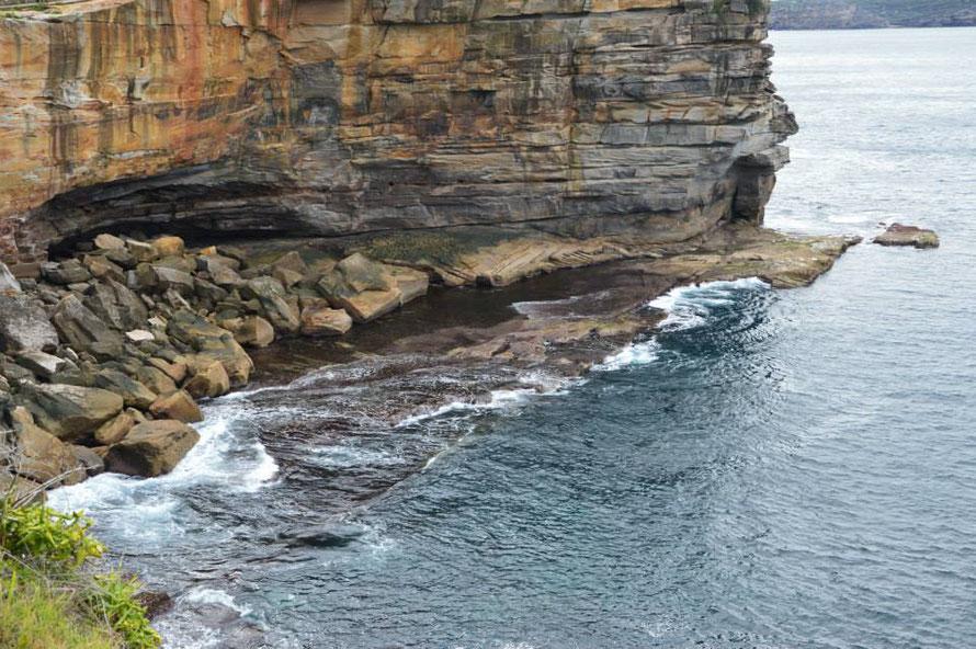 Die Klippen von Watson Bay