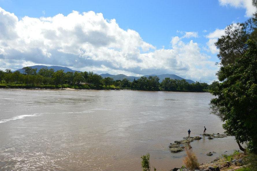 Der Fitzroy River Richtung Meer
