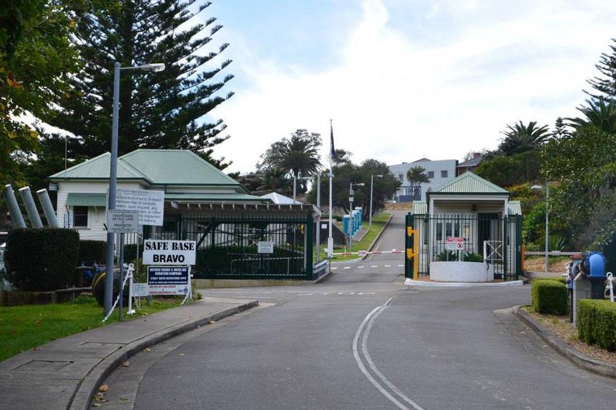 Die Militärbasis von Watson Bay