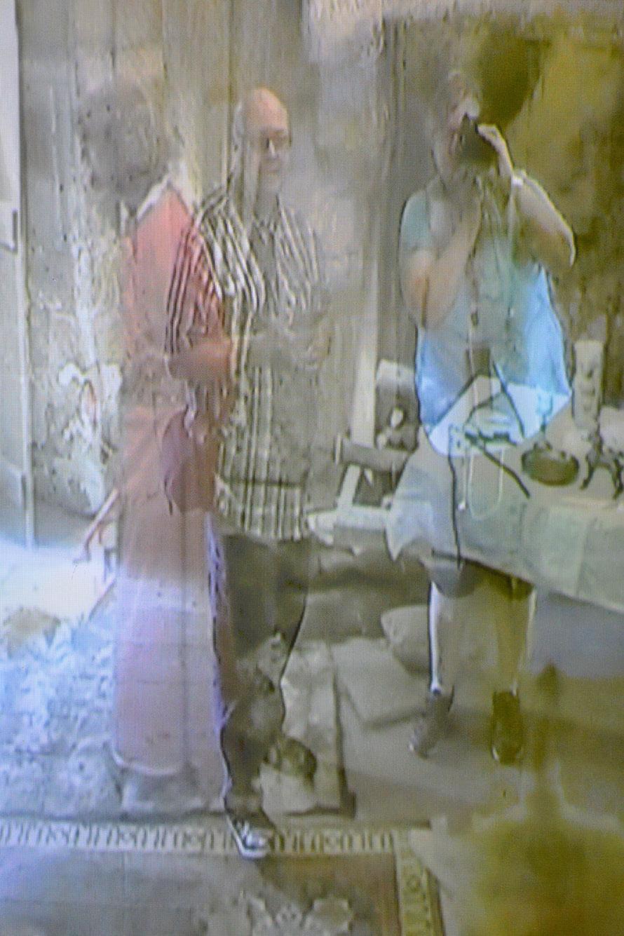 Felix und Karin im Geisterkabinett
