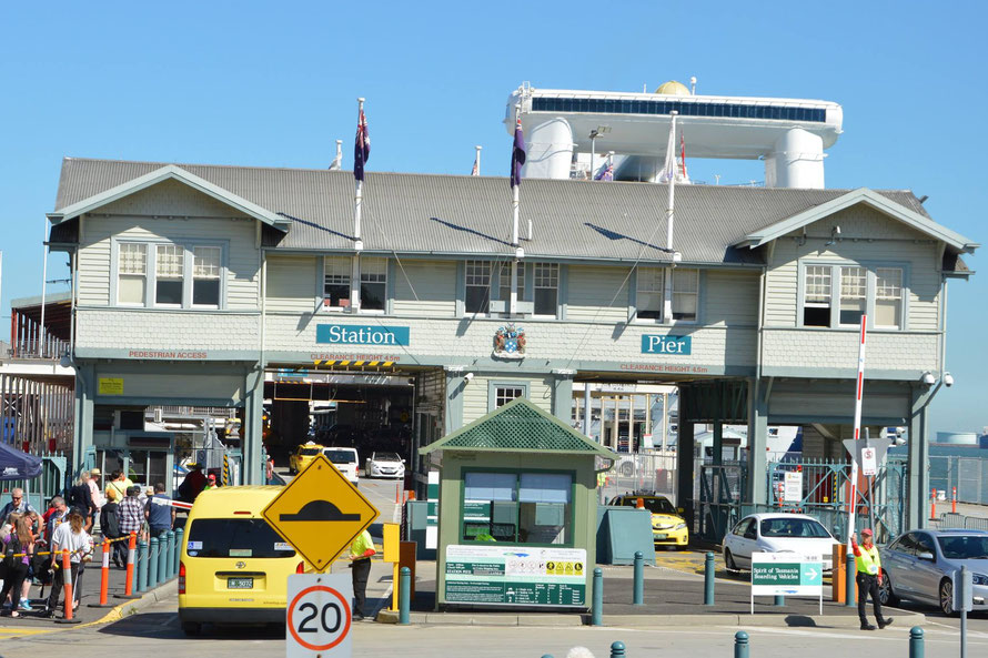 Das Station Pier in Port Melbourne.