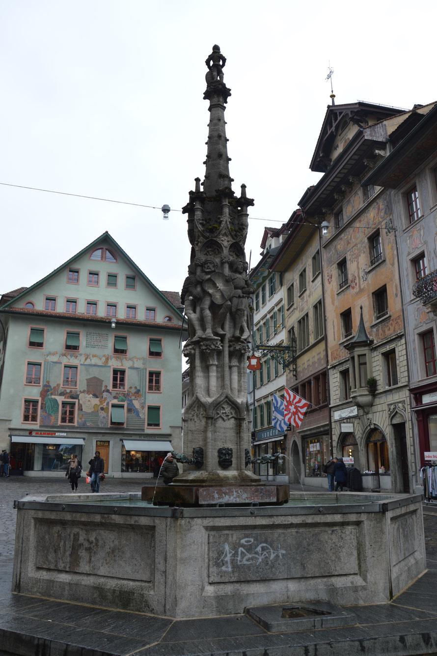 Brunnen am Weinmarkt
