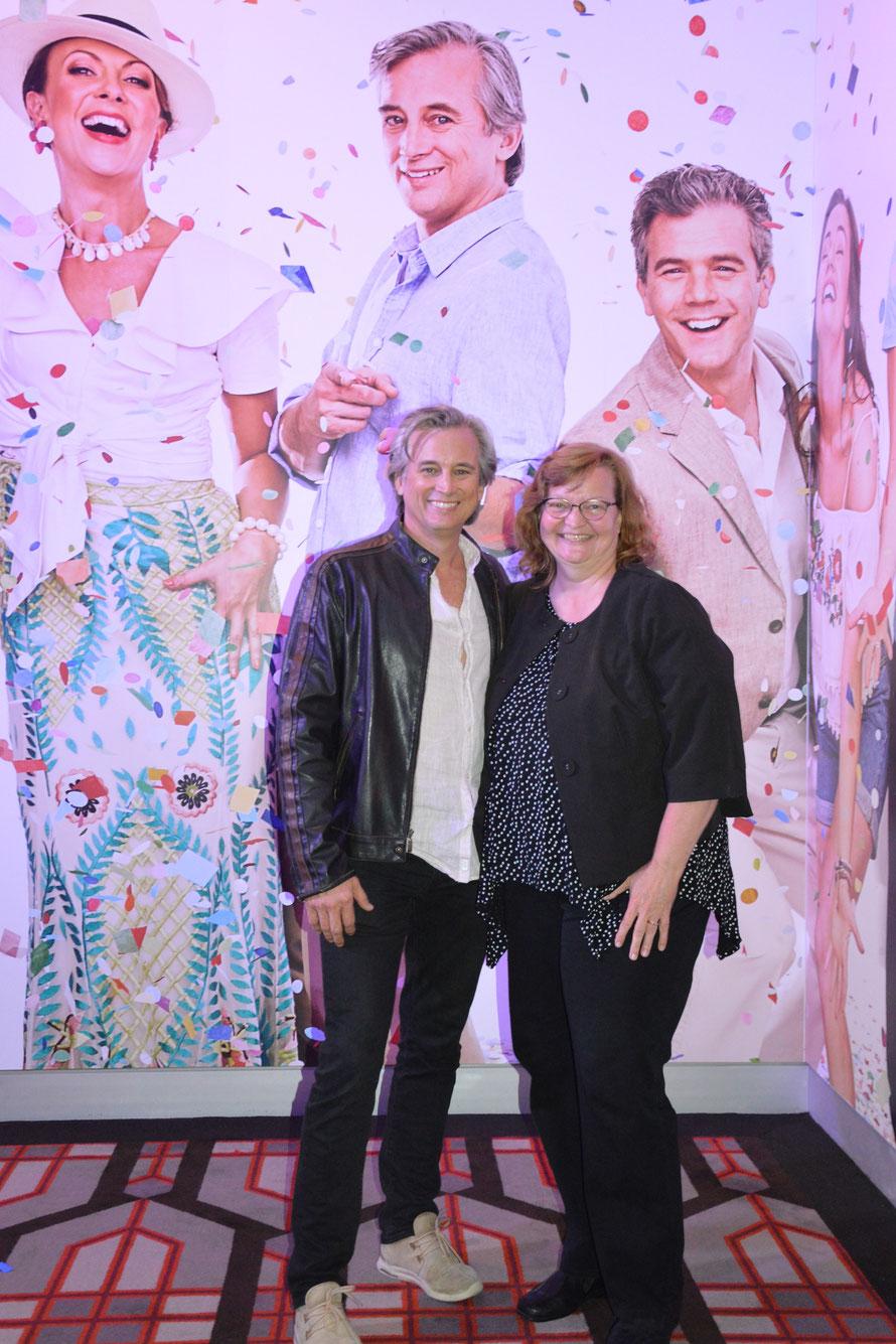 Anlässlich Mamma Mia in Perth 2018