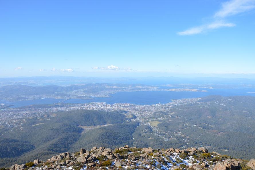 Hobart - Hauptstadt von Tasmanien