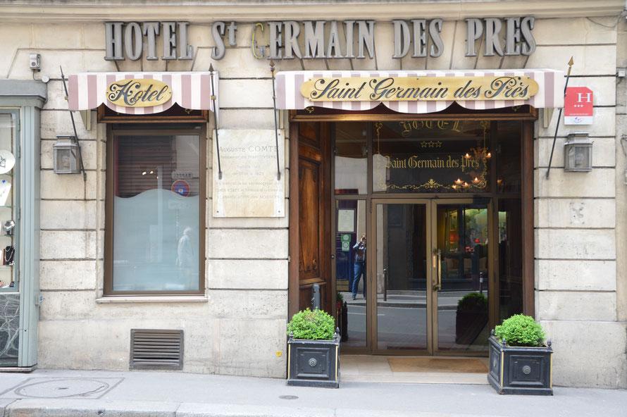 Mein Hotel in Paris: Fassadenansicht