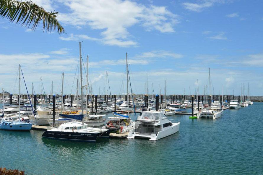 Der Yachthafen von Mackay