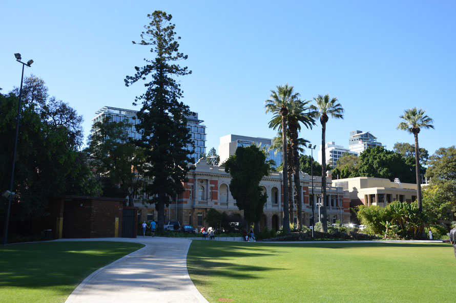 Das Gebäude des obersten Gerichts von Westaustralien
