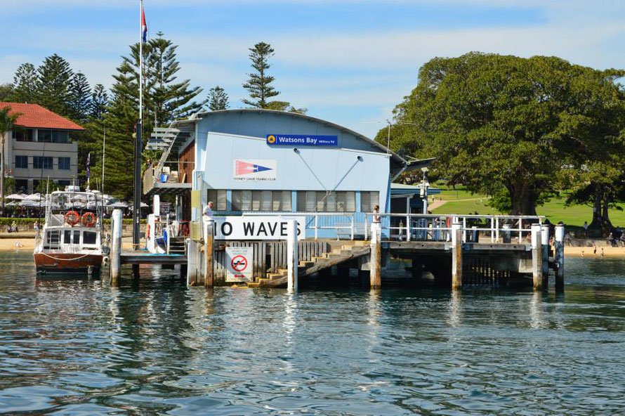Fähranleger Watson Bay