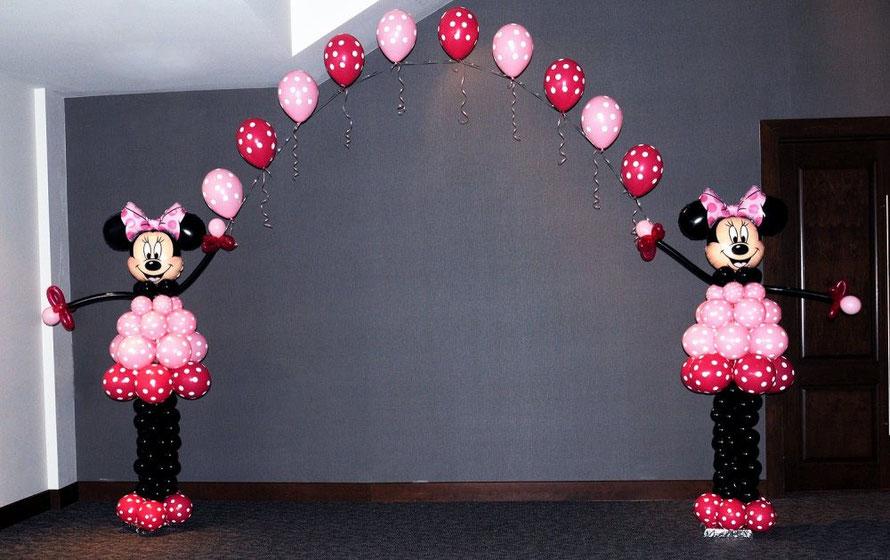 figuras de globos de personajes
