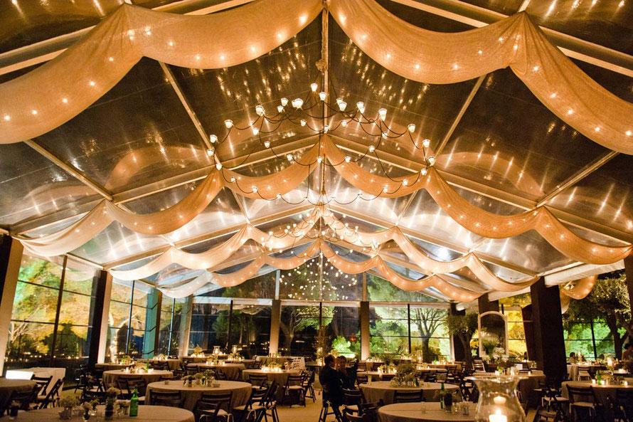 iluminación de fiestas y eventos nocturnos