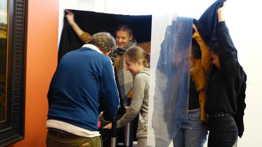 Kurzfilm Workshop beim Projekt Studio15|25 auf dem Flensburger Museumsberg