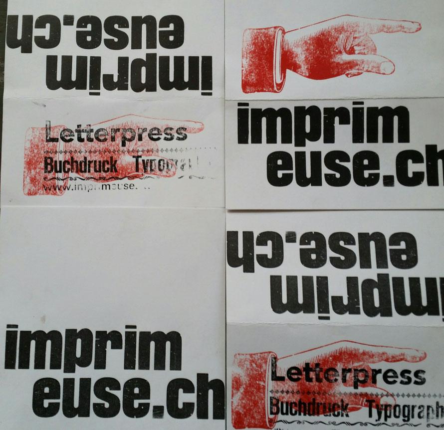 l'imprimeuse Letterpress woodtype printstudio