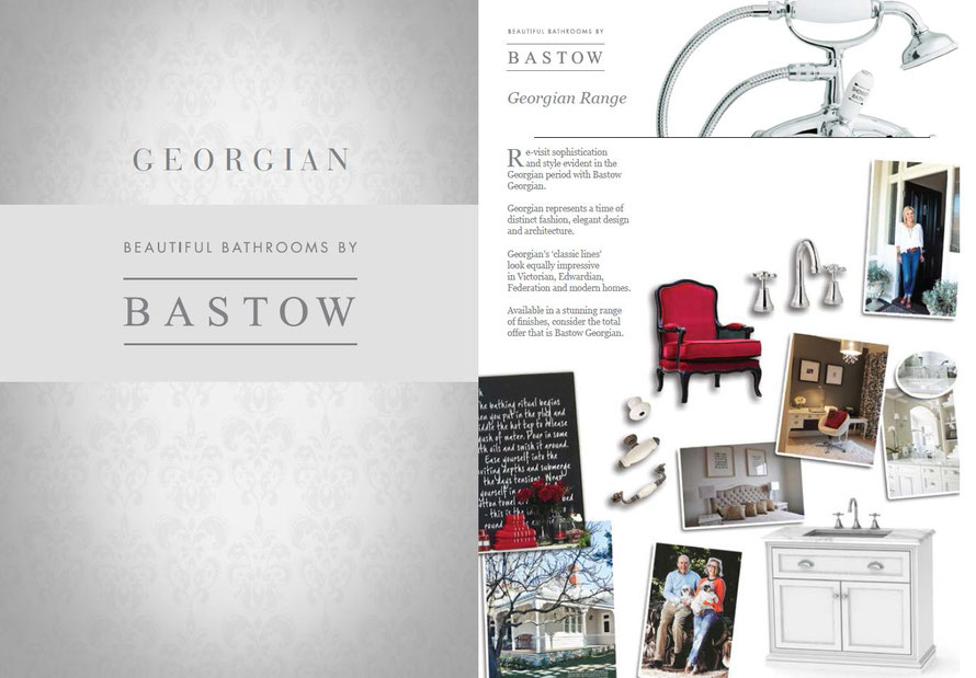 The Bastow Georgian range represents a time of distinct fashion, elegant design and architecture. Georgian's 'classic lines' look equally impressive in Victorian, Edwardian, Federation and modern homes.