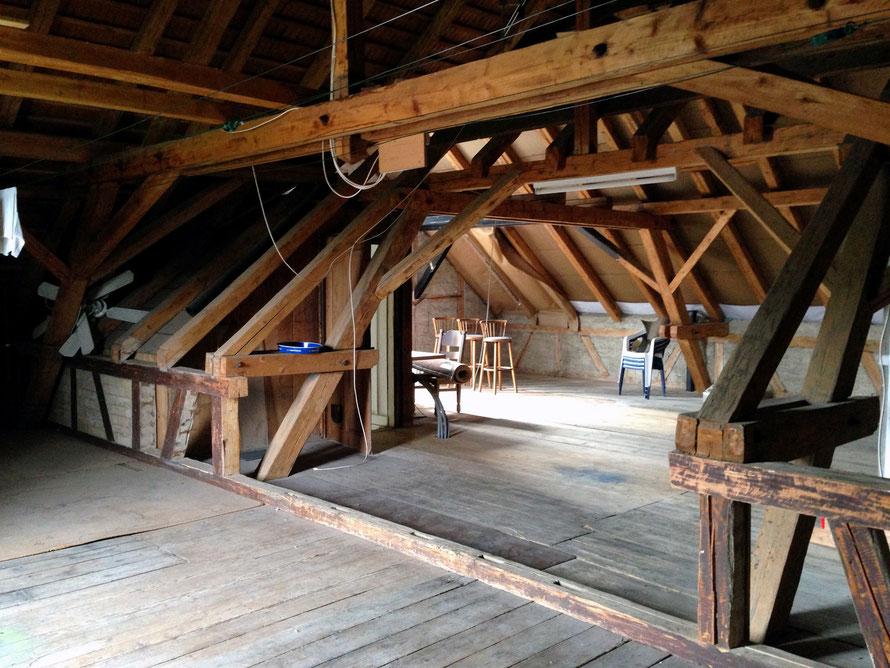 Dachgeschoss vor Umbau