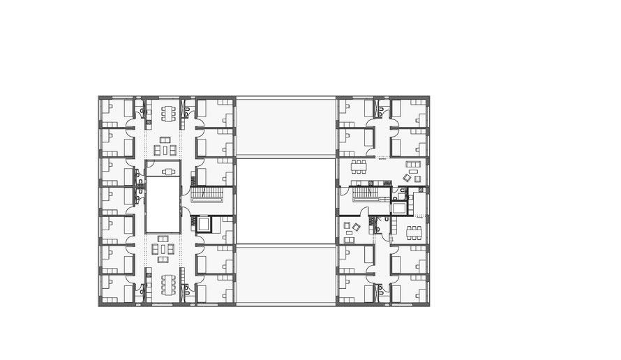 1. und 3. Obergeschoss