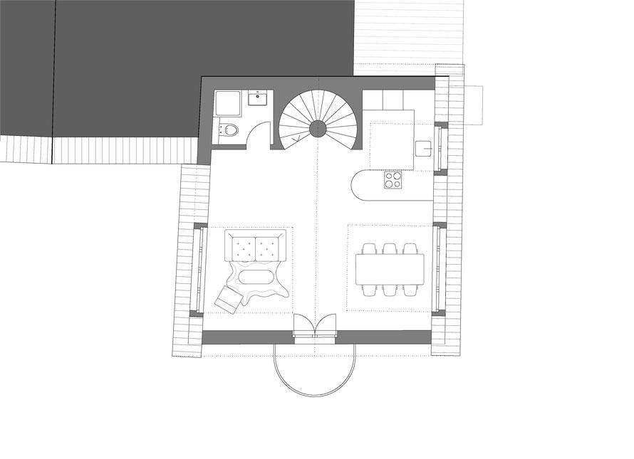 Dachgeschoss - Wohnung 2