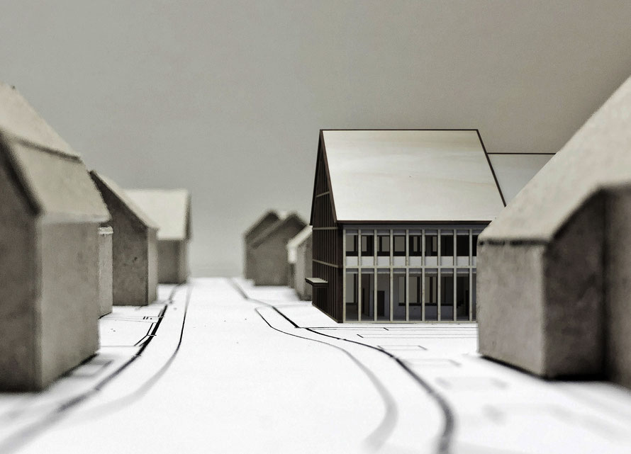 Struktur-Modell Strassenraum