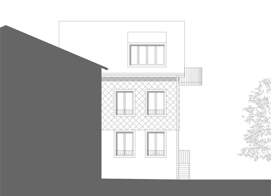 Süd-West-Fassade
