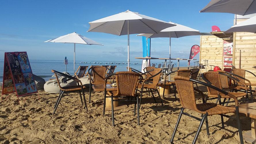 snack , plage , La Tranche-Sur-Mer , Vendée , plage porte des iles .