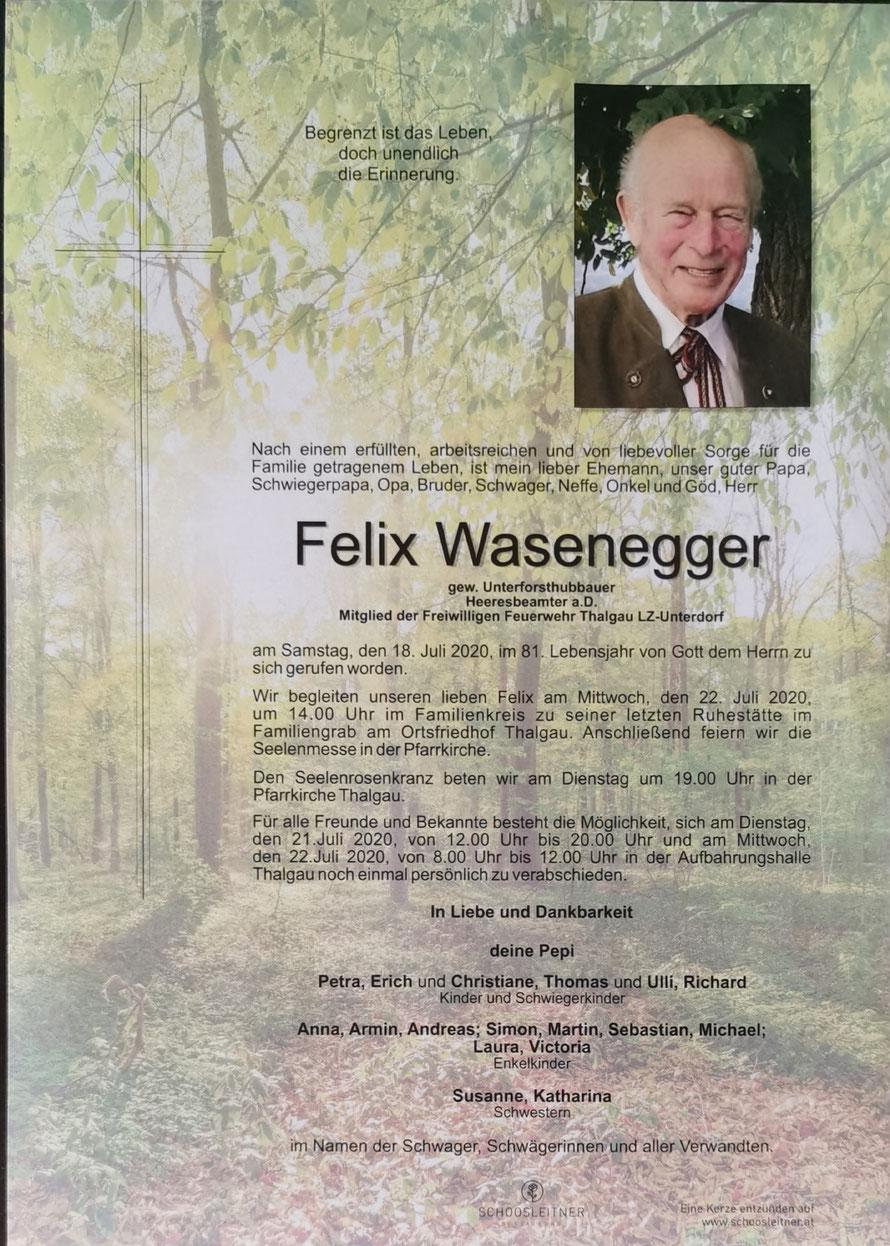 Felix WASENEGGER