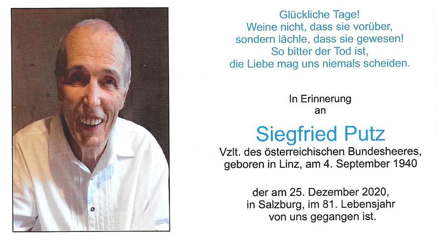 Siegfried PUTZ