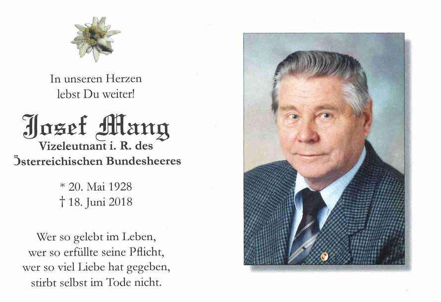 Josef Mang