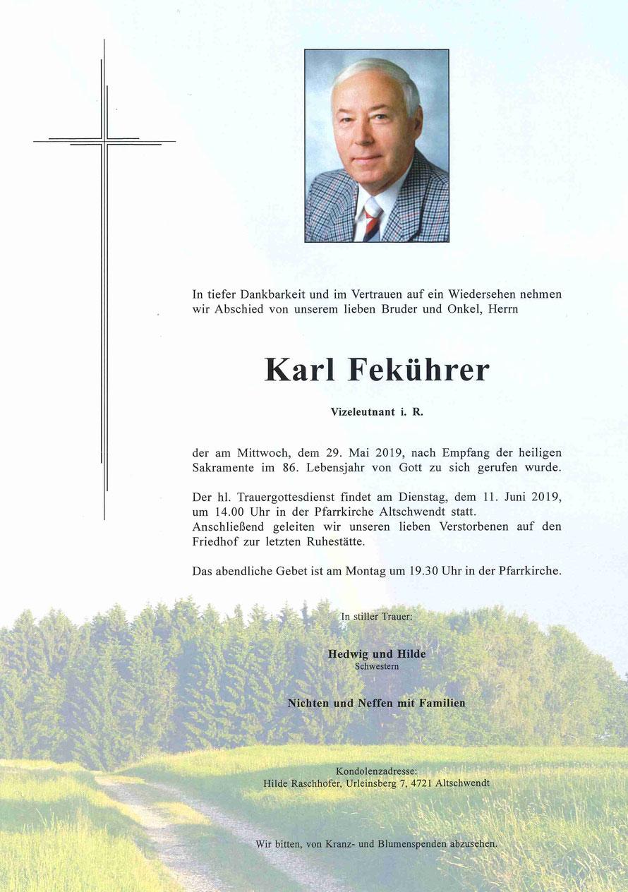 Karl Fekührer